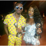 Victoria Kimani, Diamond Platinumz & Triplets Ghetto Kids win big at the Afrimma Awards -2017