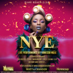 Vanessa Mdee to headline New Year's Eve party at the Diani Beach Festival