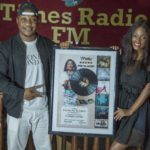 Vanessa Mdee awarded music plaque by Times FM