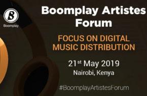 Boomplay Artistes Forum Poster
