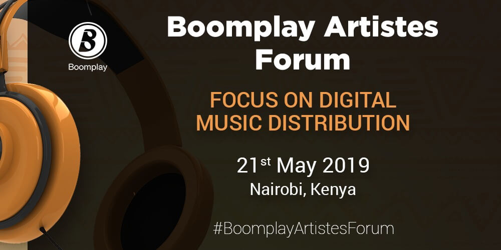 Boomplay Artistes Forum Poster