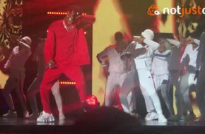 Diamond Platnumz performs in Lagos