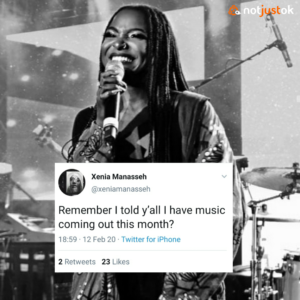 Xenia Manasseh Announces New Music Dropping This Month