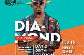 Diamond Platnumz Headlining The Koroga Festival 29th Edition