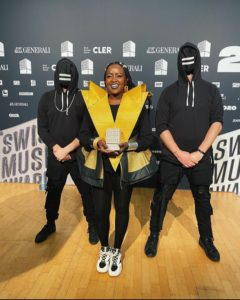 Muthoni The Drummer Queen At The Swiss Music Awards