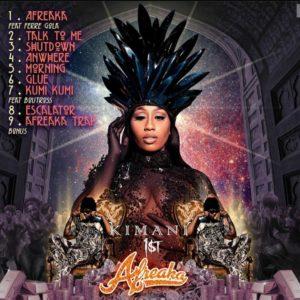 Afreaka Tracklist