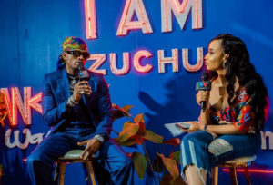 Diamond Platnumz at Zuchu's EP Launch