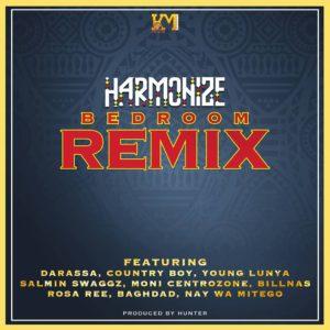 Harmonize ft. Darassa, Country Boy, Young Lunya, Salmin Swaggz, Moni Centrozone, Billnass, Rosa Ree, Baghdad, Nay Wa Mitego – Bedroom Remix