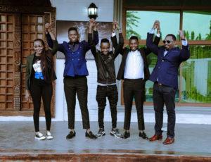 Ibraah (middle) joins Konde Music Worldwide