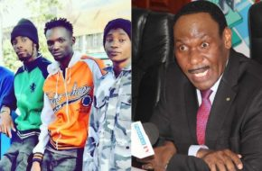 Ethic Entertainment (left), Kenya Film Classification Board CEO; Ezekiel Mutua (right)