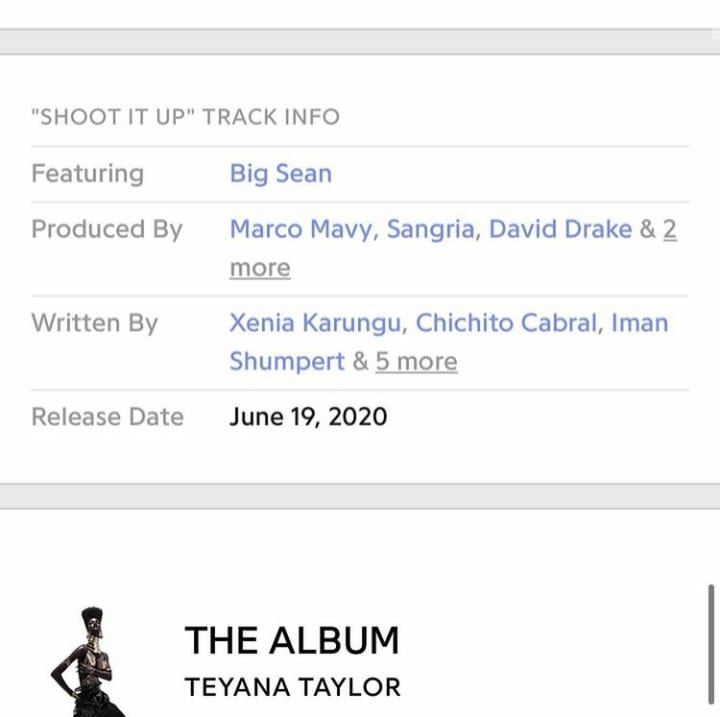 Xenia Manasseh co writes Shoot It Up feat Big Sean