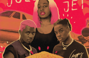 Cuppy ft. Rema, Rayvanny - Jollof On The Jet