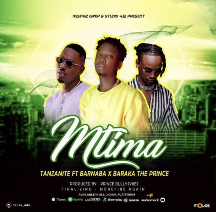 Tanzanite ft. Barnaba, Baraka The Prince - Mtima
