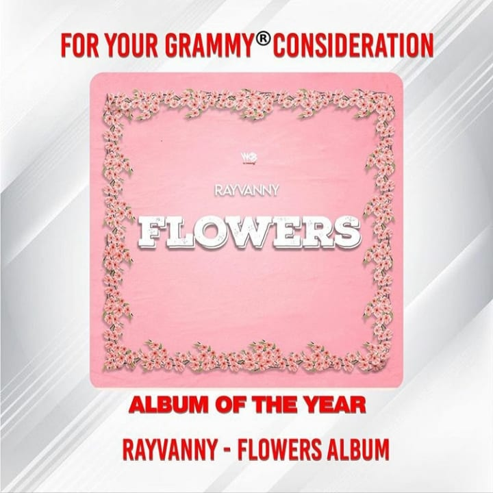 "Rayvanny's Flowers EP considered for ""Album of The Year"" nomination"