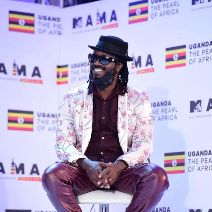 Bebe Cool at the launch of the 2021 MAMA awards