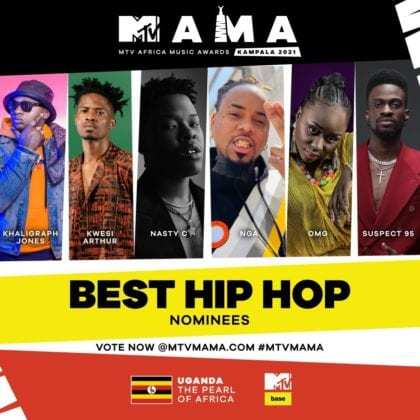 """Best Hip Hop"" MAMA Nominees"