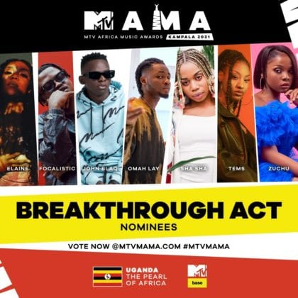 """Breakthrough Act"" MAMA nominees"