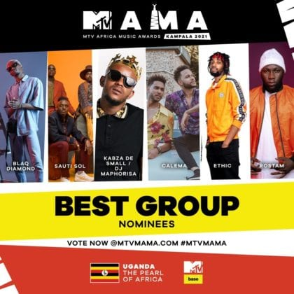 """Best Group"" MAMA Nominees"