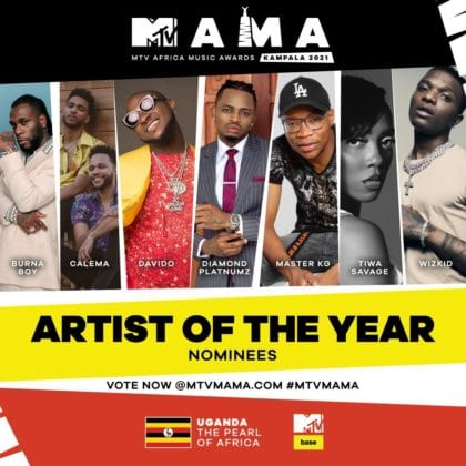 """Artist Of The Year"" MAMA Nominees"