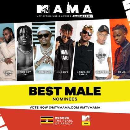 """Best Male"" MAMA Nominees"