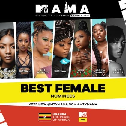 """Best Female"" MAMA Nominees"