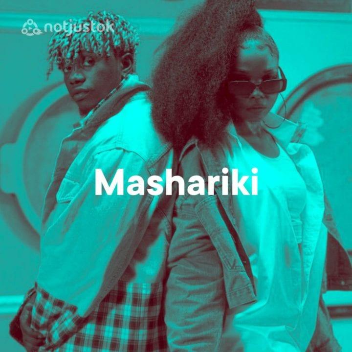 New Mashariki Playlist Cover (Rayvanny, Zuchu)