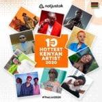 The 10 Hottest Kenyan Artists of 2020
