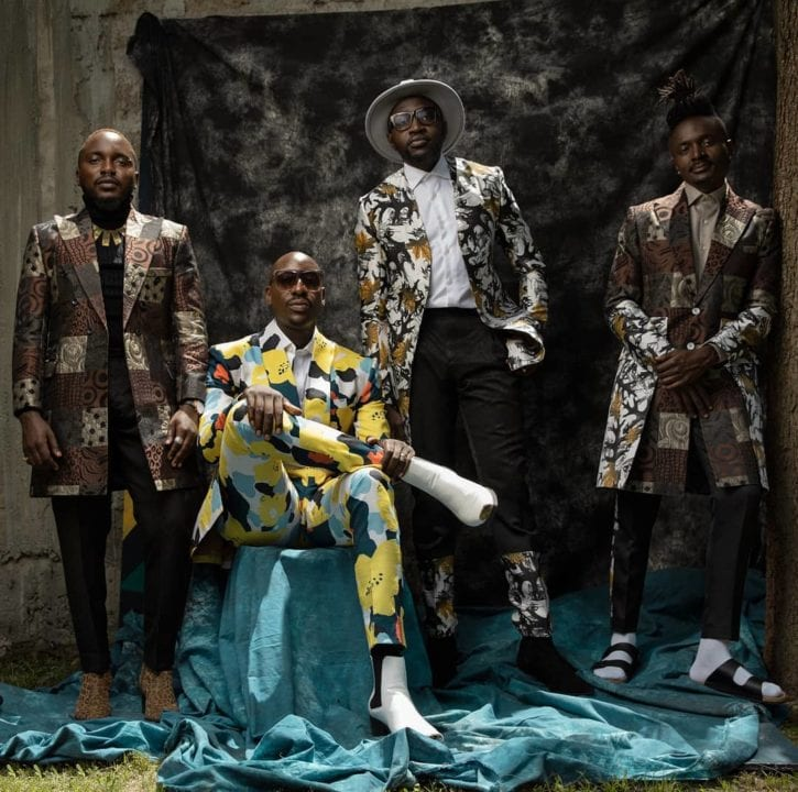 Sauti Sol To Feature In YouTube Black Voices Class of 2021