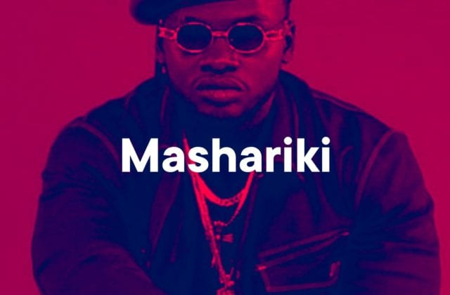Mashariki Playlist Cover (Khaligraph Jones)