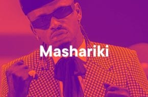 Mashariki Playlist Cover (Diamond Platnumz)
