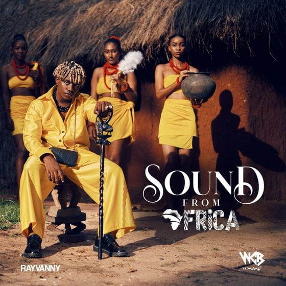 """Sounds From Africa"" cover art"