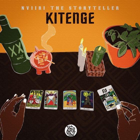 Nviiri The Storyteller 'Kitenge' EP cover art