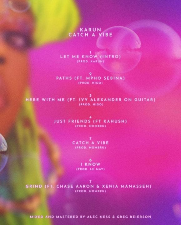 Catch A Vibe tracklist