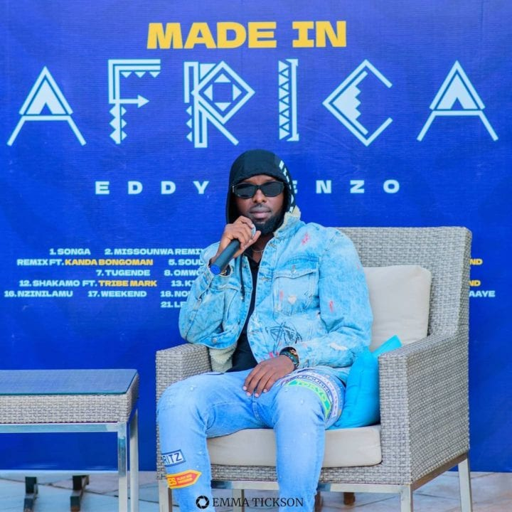 """Eddy Kenzo At The """"Made In Africa"""" Album Launch"""