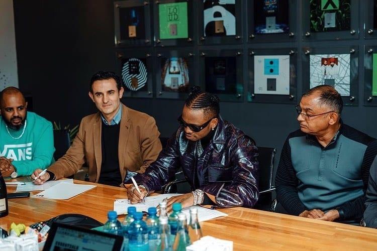 Diamond Platnumz Signing New Partnership With Warner Music