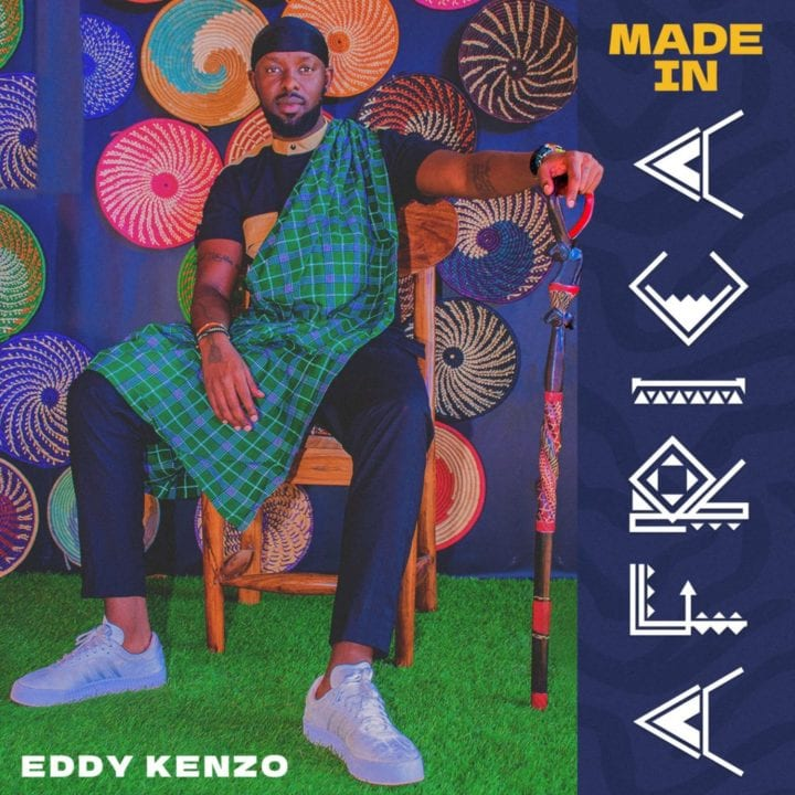 "Eddy Kenzo ""Made In Africa"" album art"