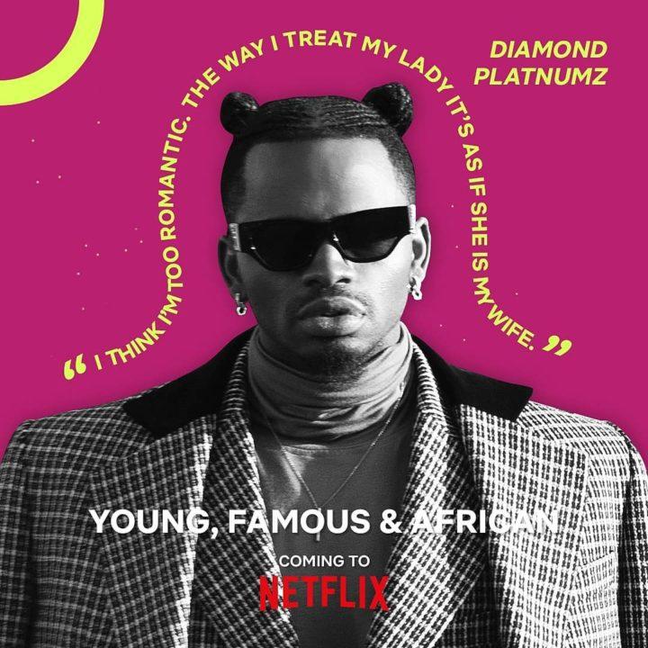 Diamond Platnumz to feature in new Netflix series