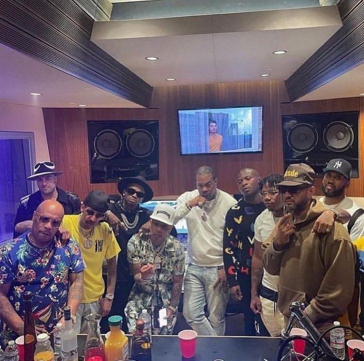 Busta Rhymes Crowns Diamond African Michael Jackson, studio link up