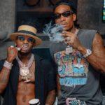 Diamond Platnumz with Wiz Khalifa