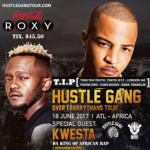 Kwesta To Perform @ Homecoming Finale of T.I's Hustle Gang Tour in Atlanta