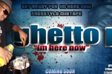 GHETTO P Mixtape Cover