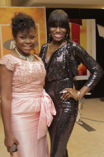 Omawumi and Yvonne