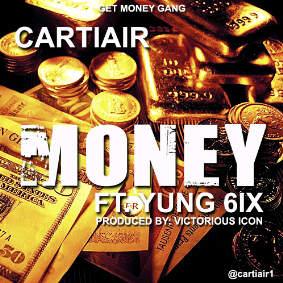 Cartiair money art