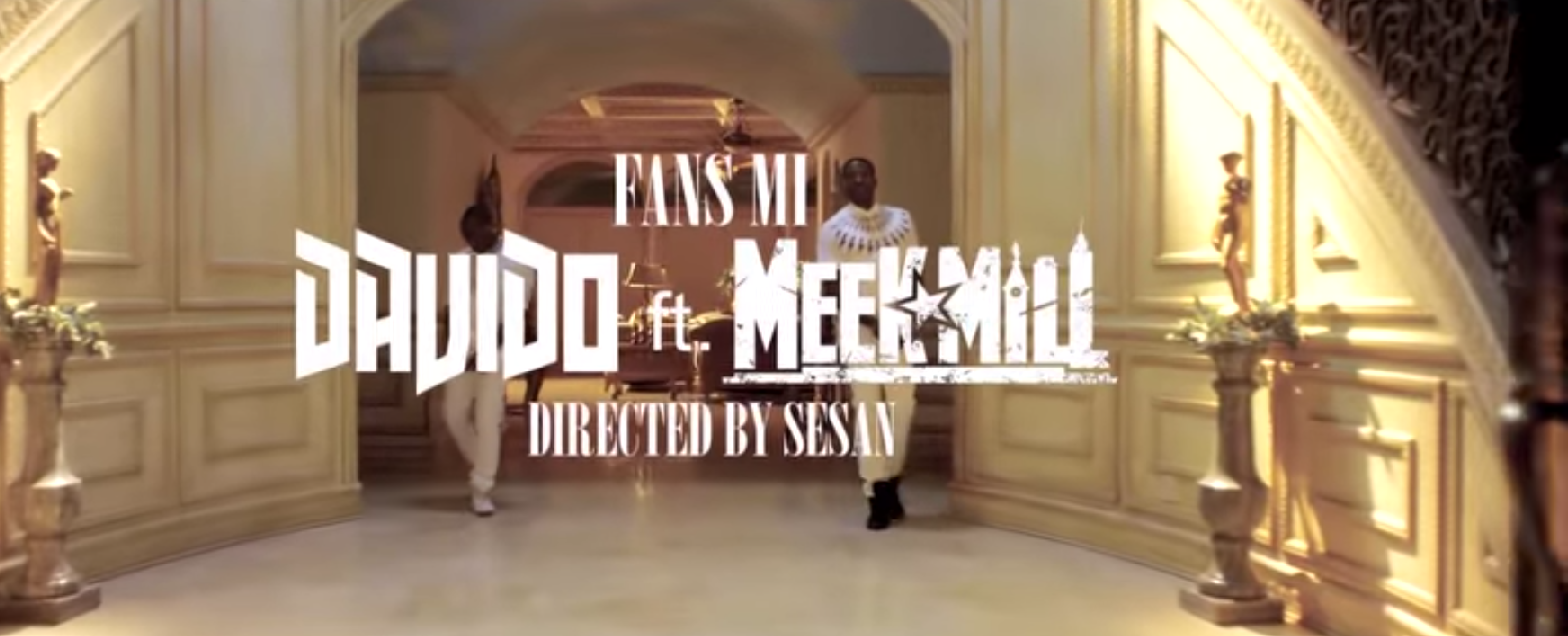 Davido Meek Mill Fans Mi Video