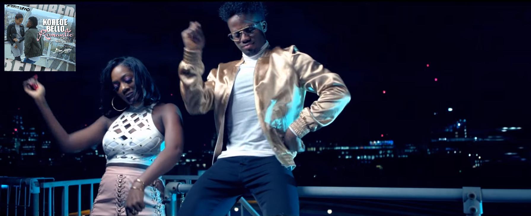 Korede Bello Tiwa Savage Romantic video