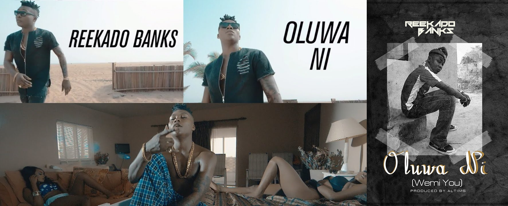 Reekado Banks Oluwa Ni Video
