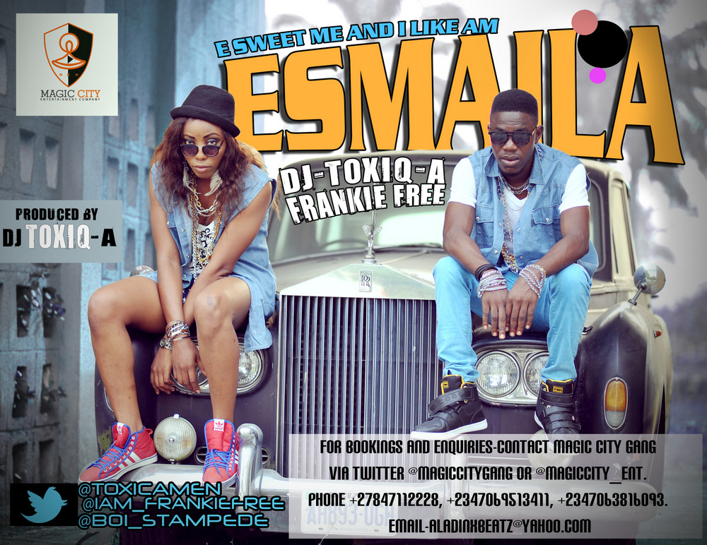 Frankie Free ft. DJ Toxiq-A - E SWEET ME AND I LIKE AM [ESMAILA] Artwork
