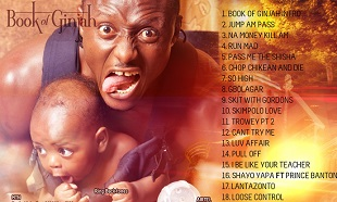 Terry G Book of Ginjah - Track listings feat