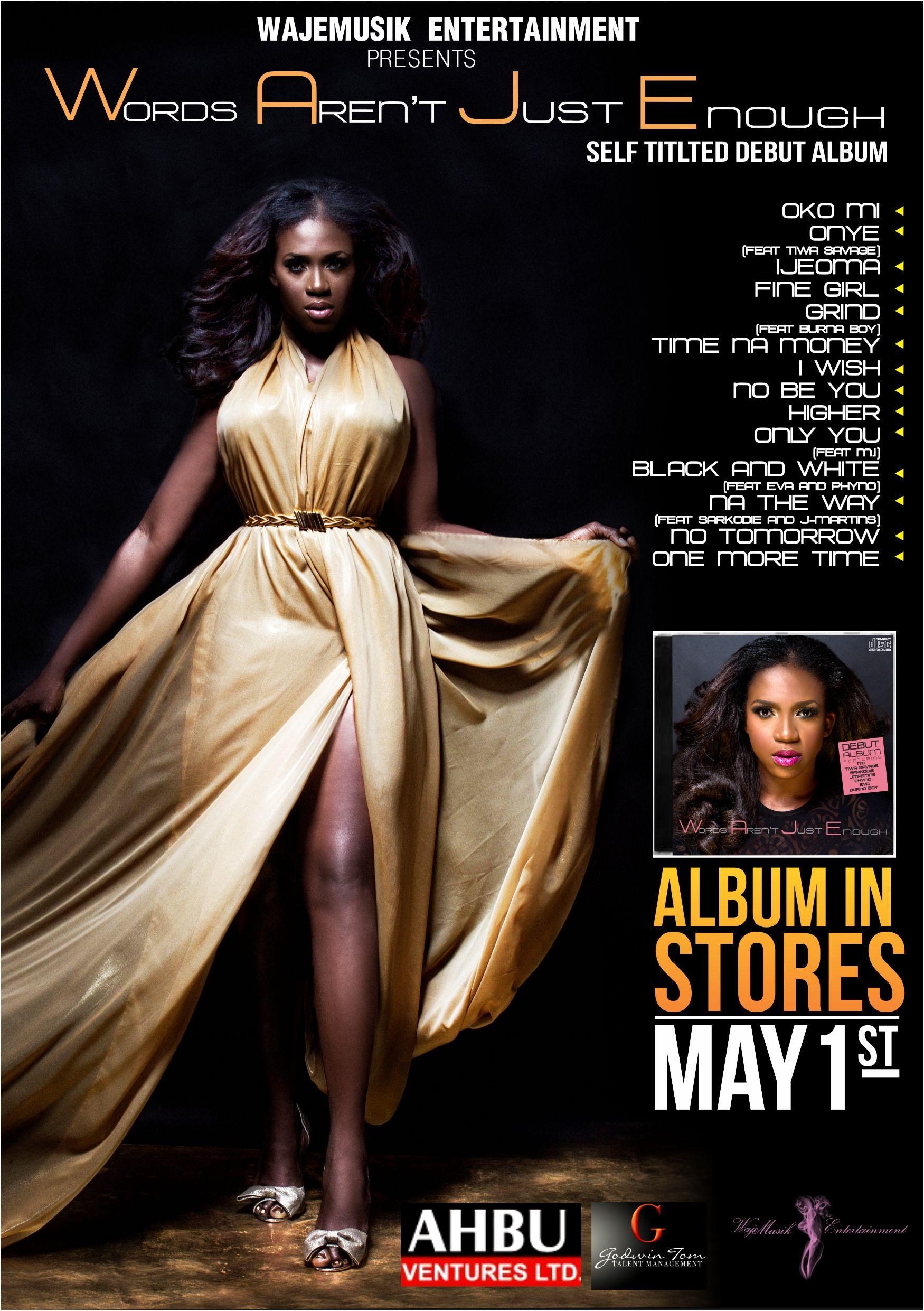 Waje Tracklist Poster