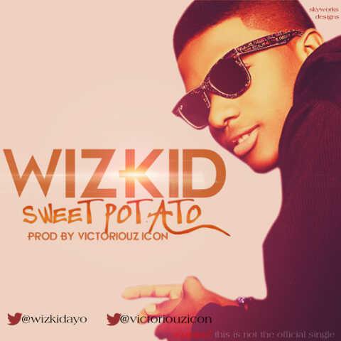 wizkid sweet potato art